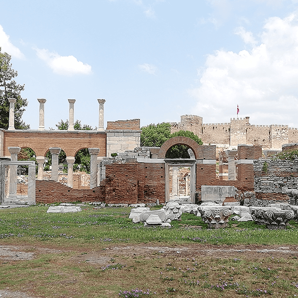Private Tour 6 : Ephesus – Artemis Temple – St. John Basilica Tour